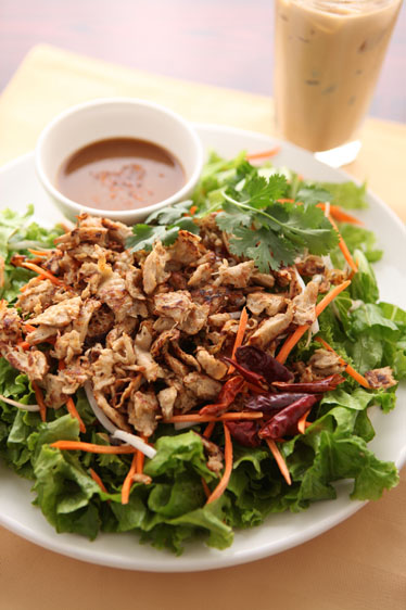 Vegan Thai Chicken Salad