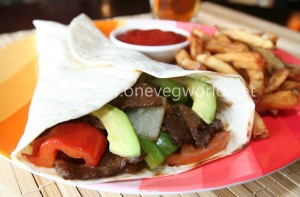 One Veg World Veggie Fajita