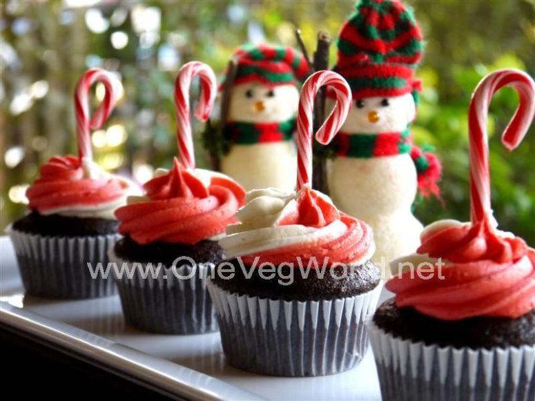 Peppermint Cupcakes (Medium)