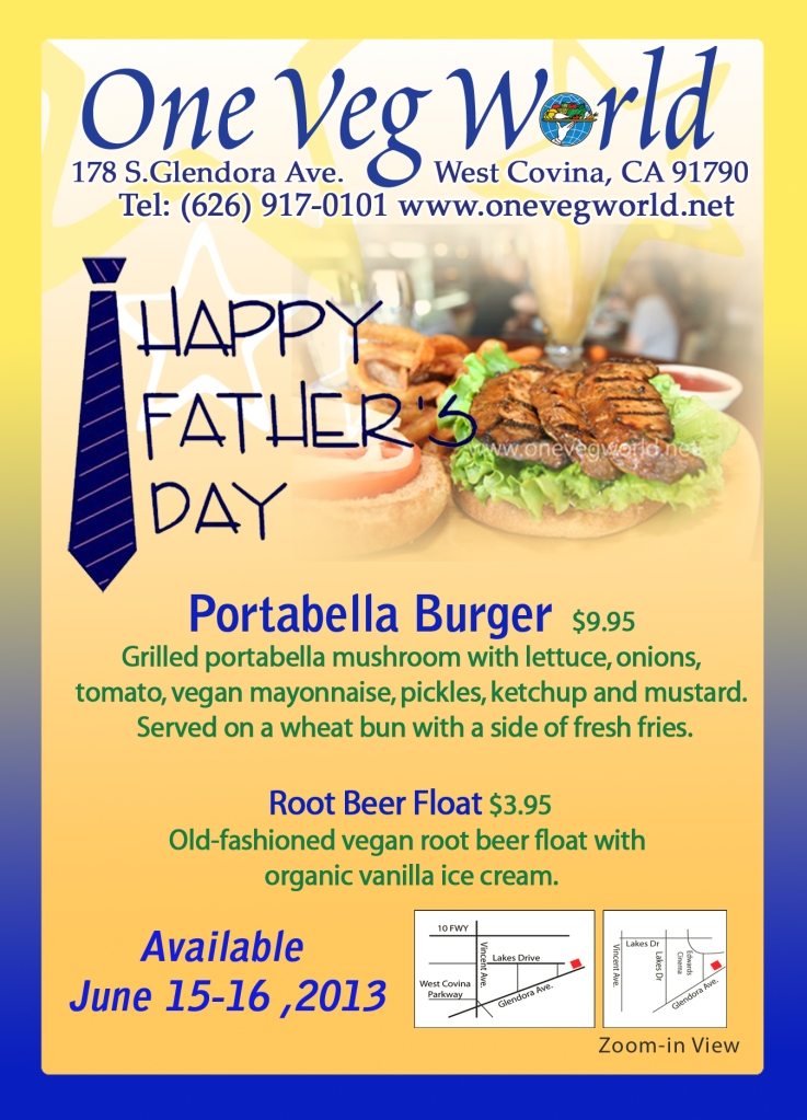 JUN 2013 FATHERS DAY Postcard FRONT