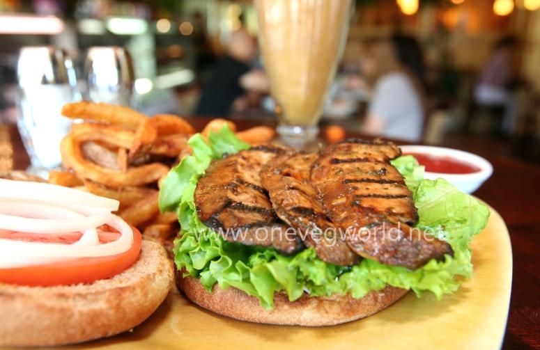Portabella Burger