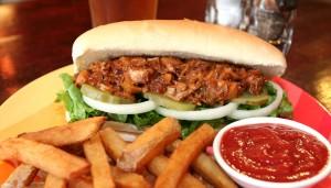 Jackfruit Sub Sandwich